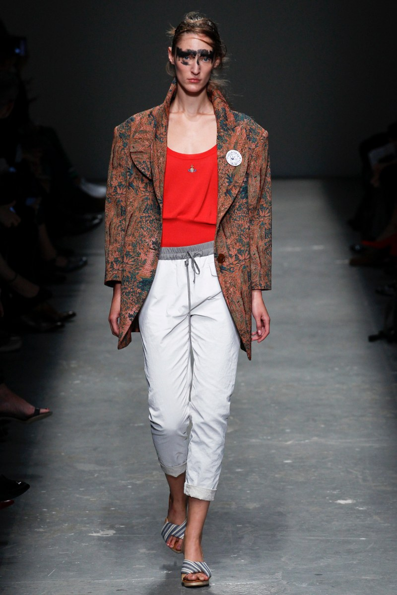 Vivienne Westwood Red Label Ready To Wear SS 2016 LFW (30)