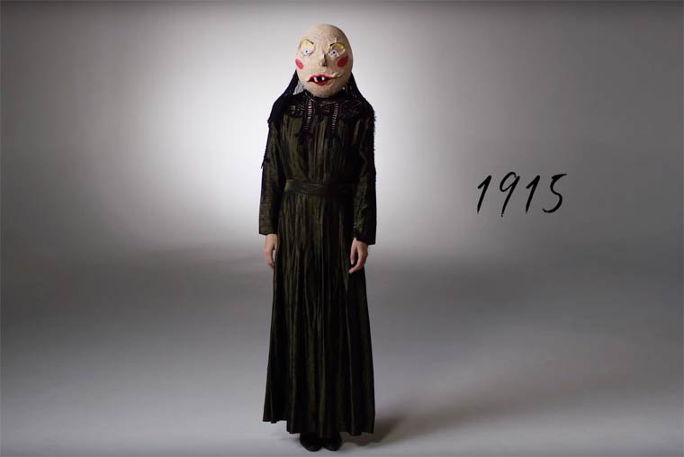100 YEARS OF HALLOWEEN COSTUMES IN 3 MINUTES (1)