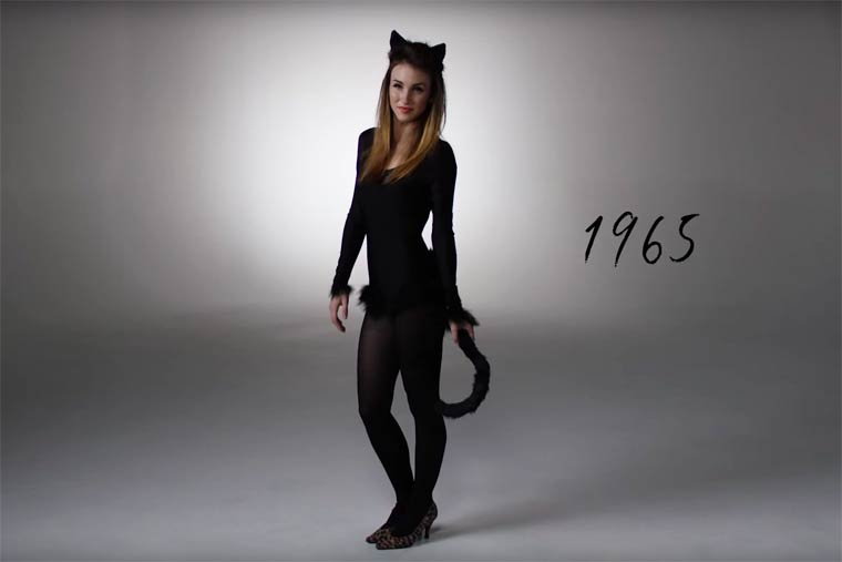 100 YEARS OF HALLOWEEN COSTUMES IN 3 MINUTES (3)