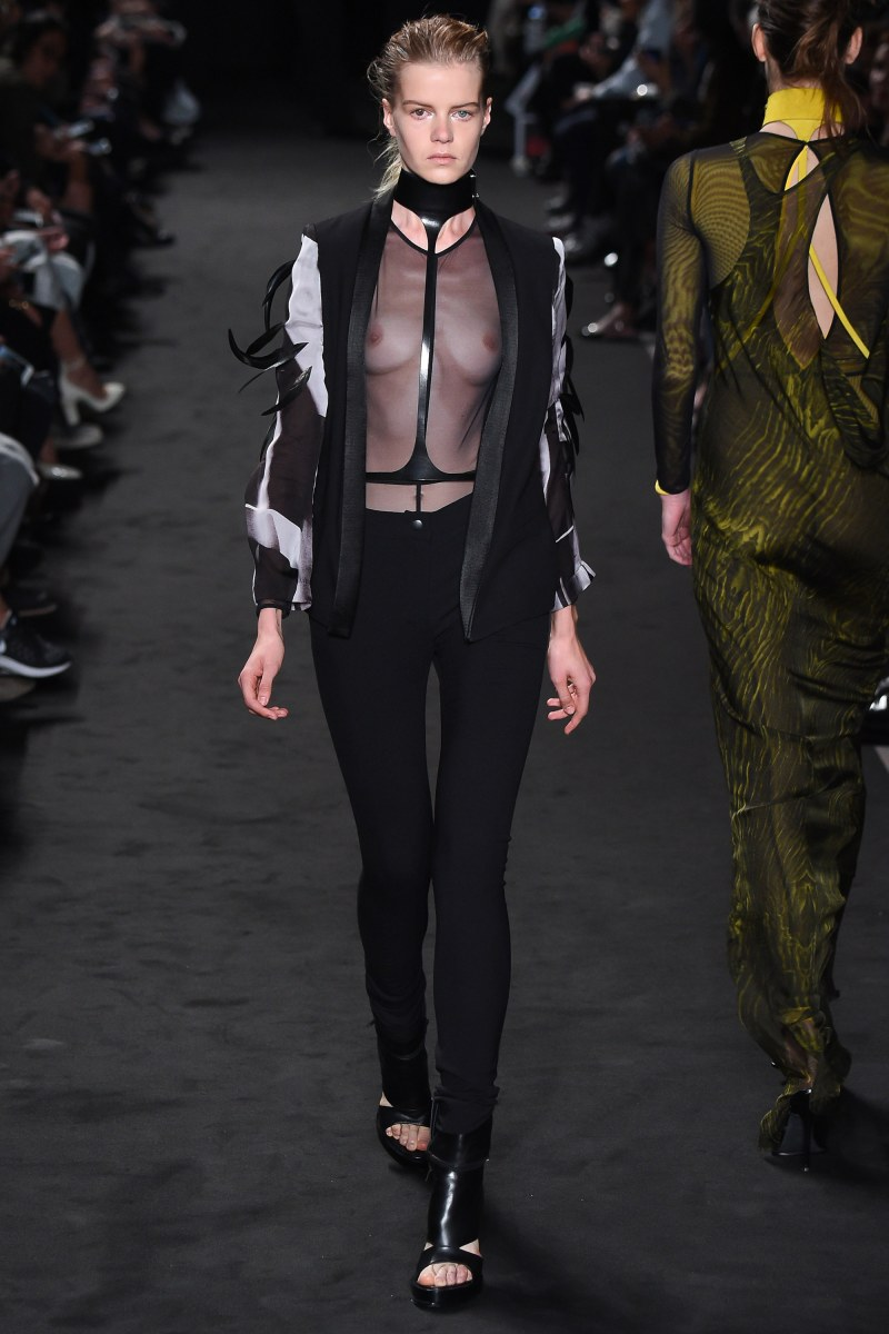 Ann Demeulemeester Ready To Wear SS 2016 PFW (21)