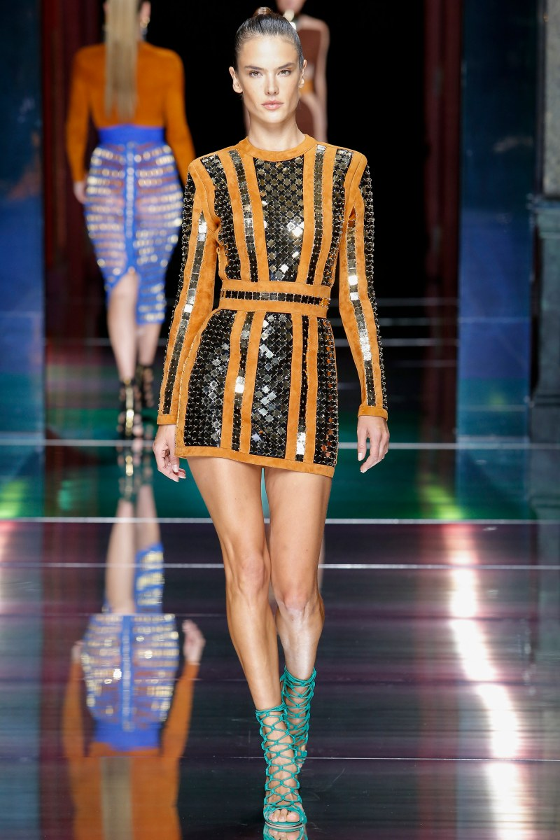 Balmain Ready To Wear SS 2016 PFW (11)