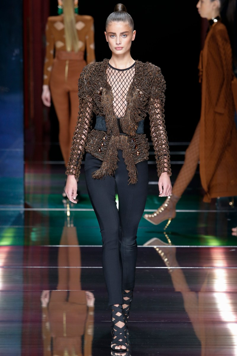 Balmain Ready To Wear SS 2016 PFW (19)