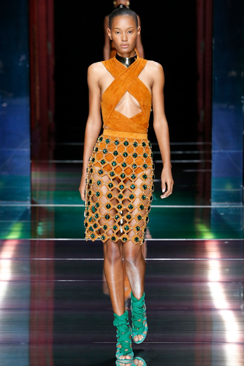 Balmain Ready To Wear SS 2016 PFW (2)