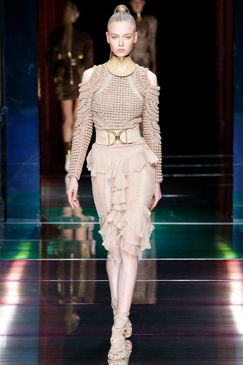 Balmain Ready To Wear SS 2016 PFW (25)