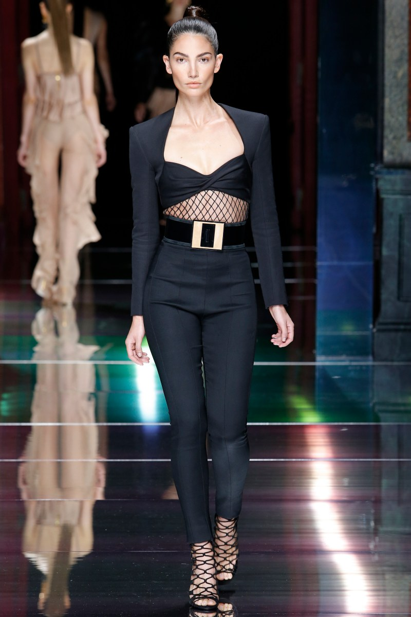 Balmain Ready To Wear SS 2016 PFW (41)
