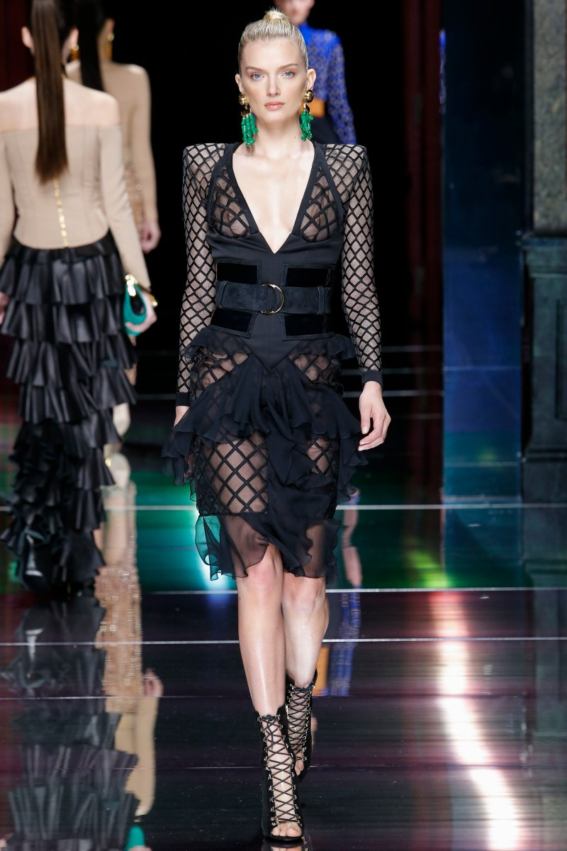 Balmain Ready To Wear SS 2016 PFW (45)