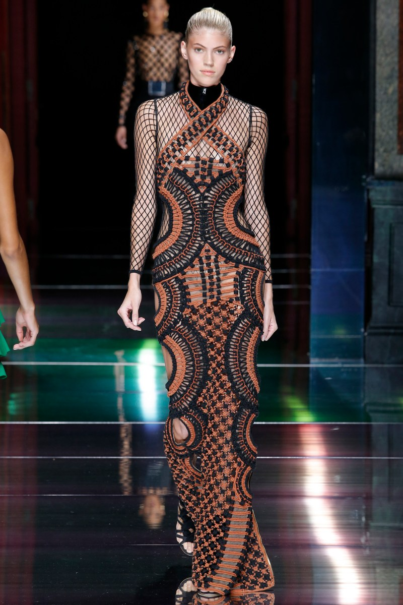 Balmain Ready To Wear SS 2016 PFW (53)
