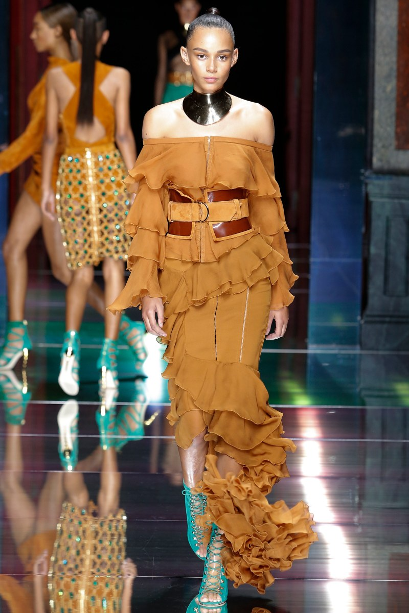 Balmain Ready To Wear SS 2016 PFW (7)
