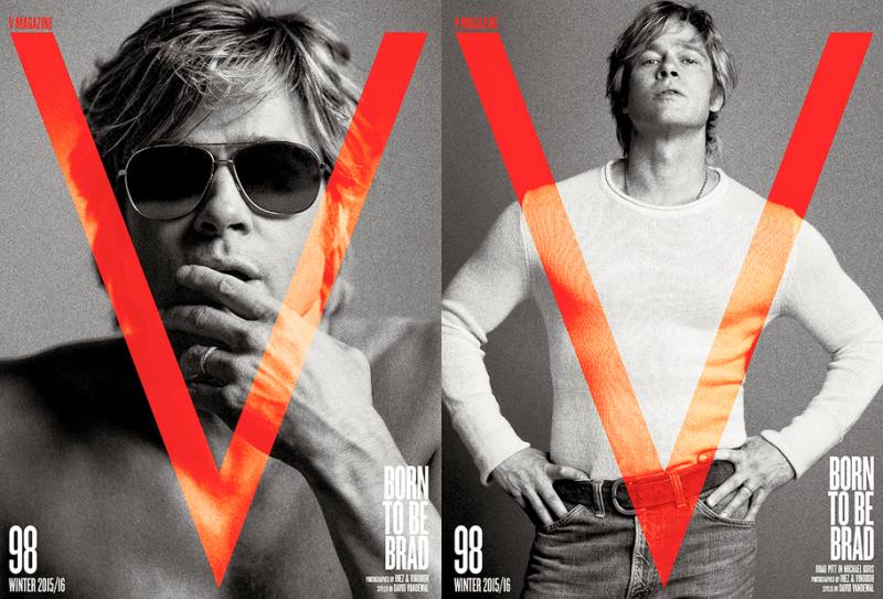 Brad Pitt by Inez & Vinoodh (1)