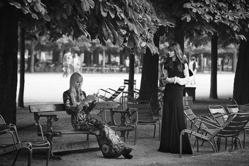 Freja Beha Erichsen & Lara Stone by Peter Lindbergh (5)