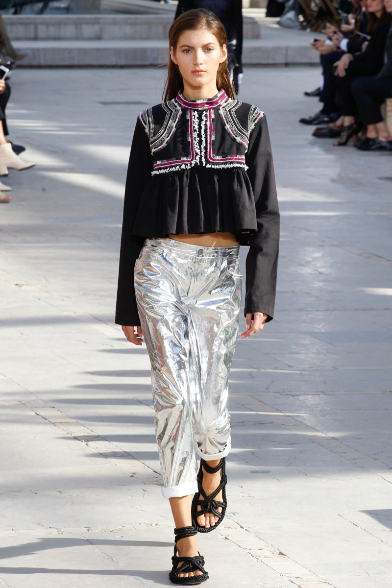 Isabel Marant Ready To Wear SS 2016 PFW (11)