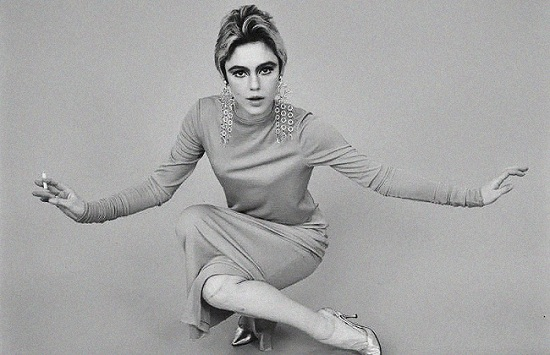 Throwback Editorial Edie Sedgwick by Fred Eberstadt, 196