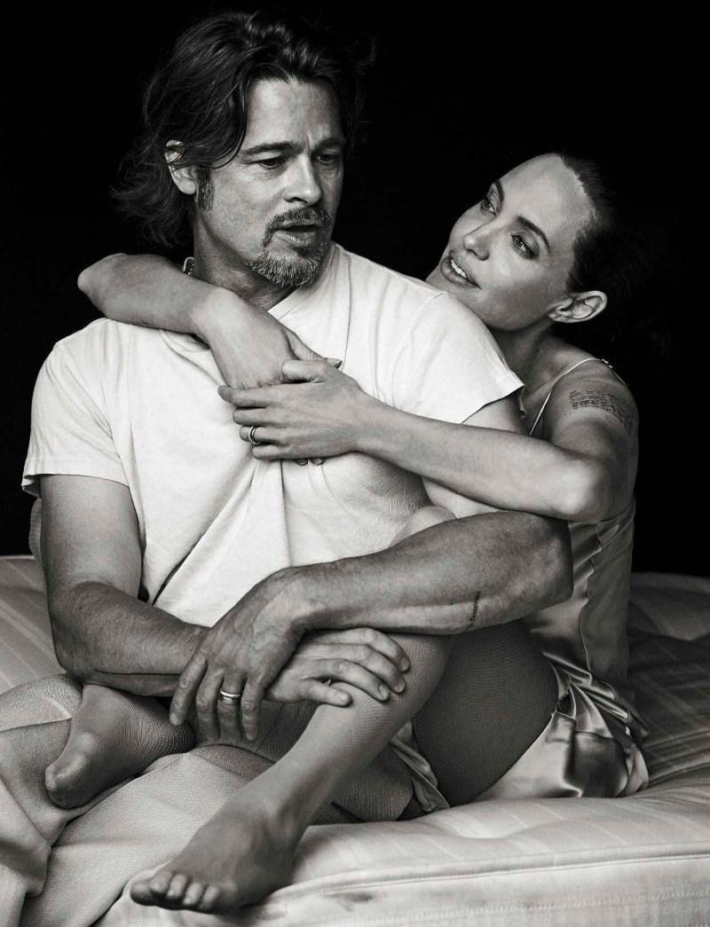 ANGELINA JOLIE & BRAD PITT by PETER LINDBERGH (8)
