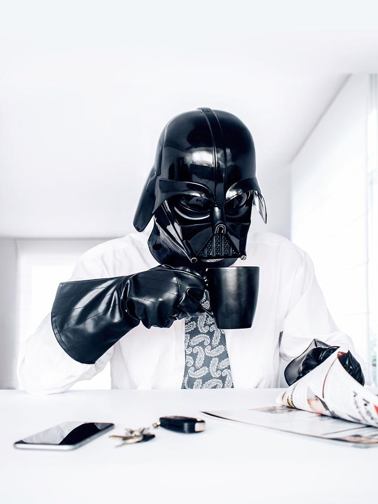 Darth Vader in Everyday Life (7)