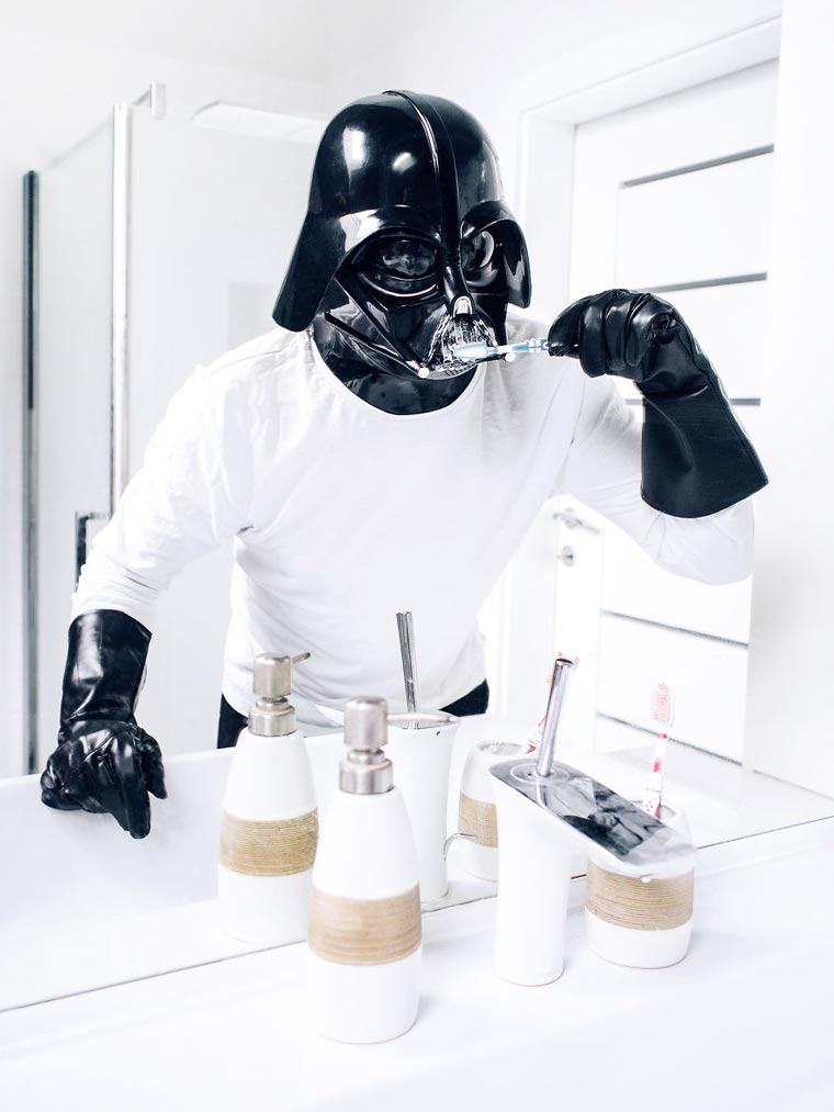 Darth Vader in Everyday Life (9)