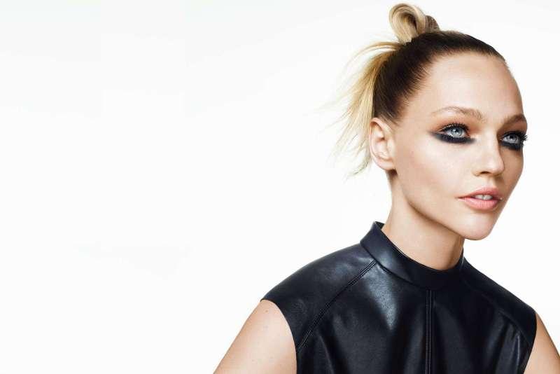 Sasha Pivovarova for H&M Beauty AW 2015 (3)