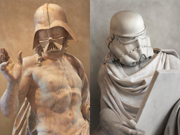 Star Wars x Ancient Greece by Travis Durden (1)