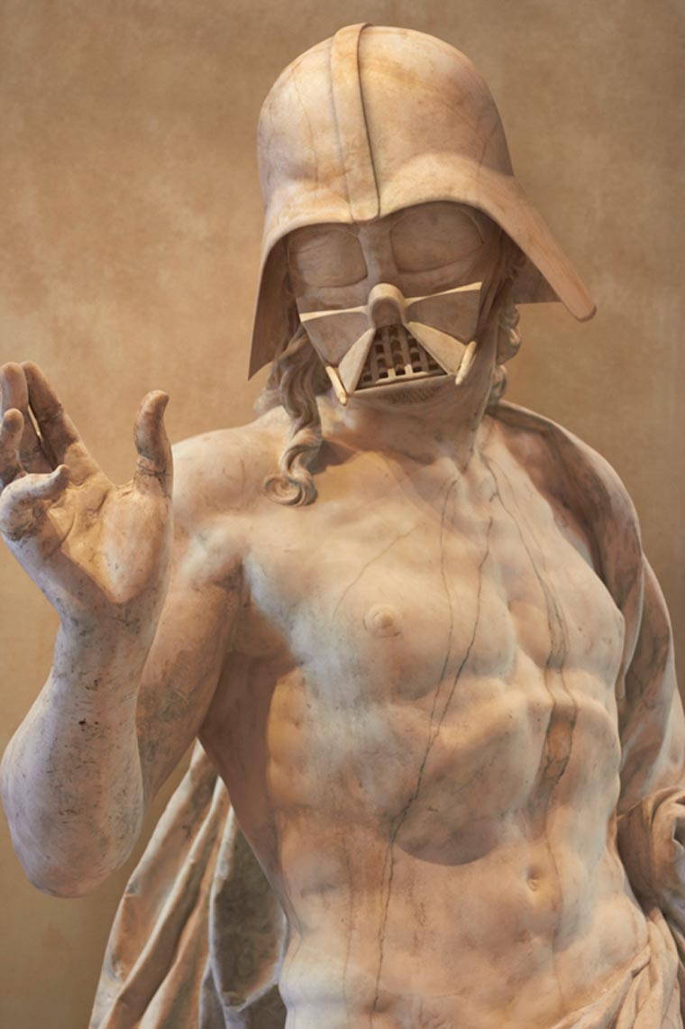 Star Wars x Ancient Greece by Travis Durden (2)