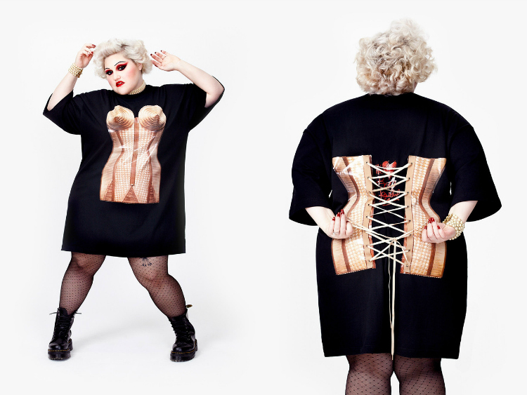 Beth Ditto Teams Up with Jean Paul Gaultier for Upcoming Plus-Size Clothing Line (2)