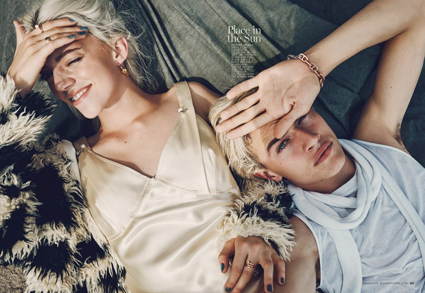 Lucky Blue Smith & Fam by Beau Grealy (7)