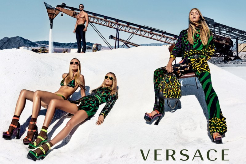 Versace SS 2016 Campaign (3)