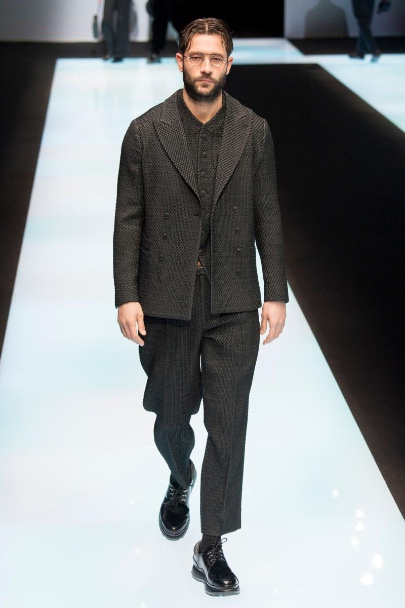 Giorgio Armani Menswear FW 2016 Milan (46)
