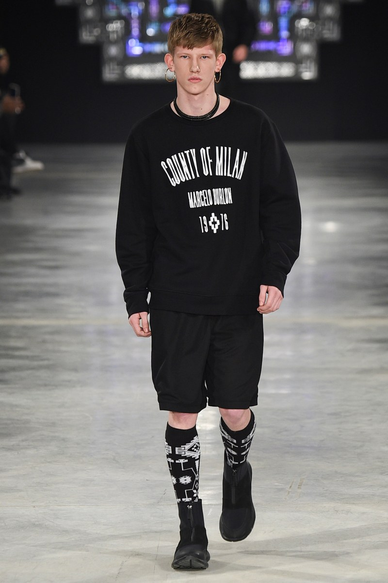 Marcelo Burlon County of Milan Menswear FW 2016 Milan (10)