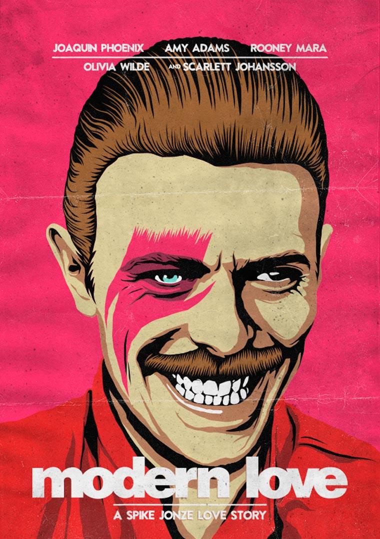 David Bowie VS. Pop Culture by Butcher Billy (2)