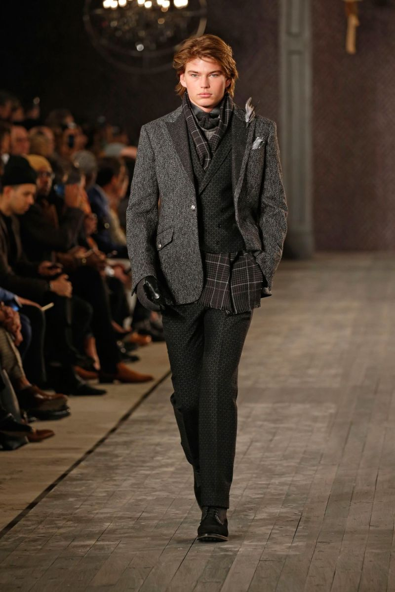 Joseph Abboud Menswear FW 2016 New York (2)