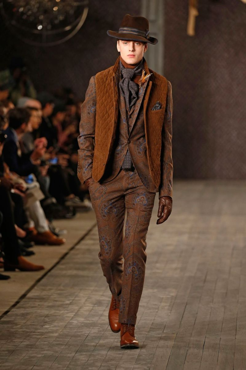 Joseph Abboud Menswear FW 2016 New York (30)