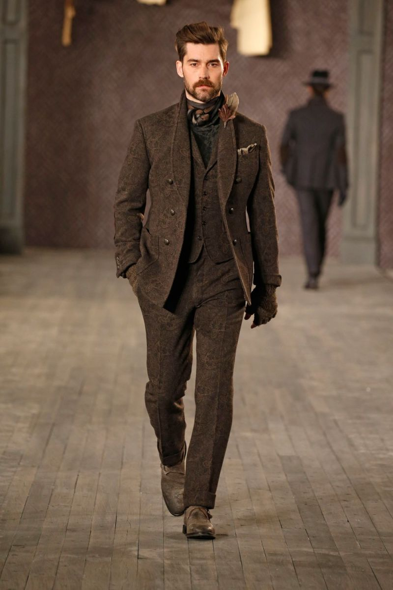 Joseph Abboud Menswear FW 2016 New York (46)