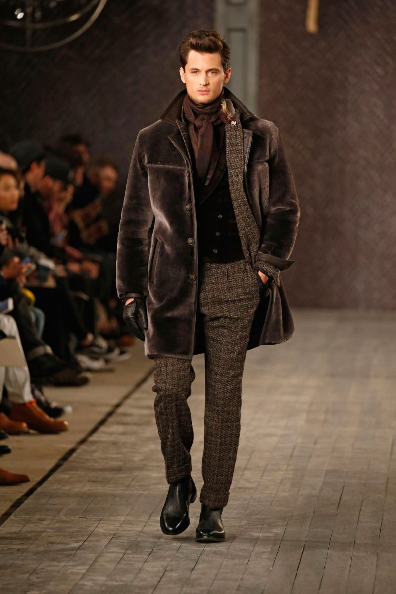 Joseph Abboud Menswear FW 2016 New York (47)