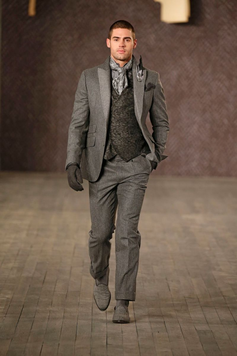 Joseph Abboud Menswear FW 2016 New York (53)