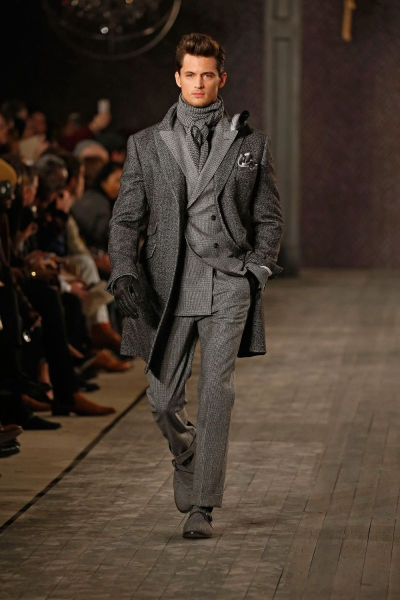 Joseph Abboud Menswear FW 2016 New York (6)