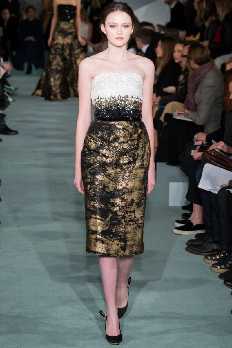 Oscar de la Renta Ready to Wear FW 2016 NYFW (33)