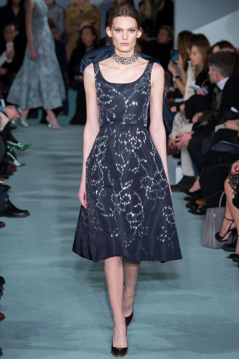 Oscar de la Renta Ready to Wear FW 2016 NYFW (43)