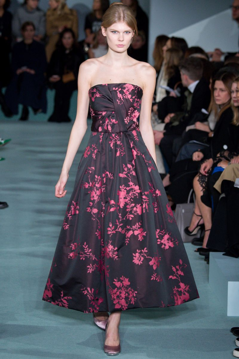 Oscar de la Renta Ready to Wear FW 2016 NYFW (47)