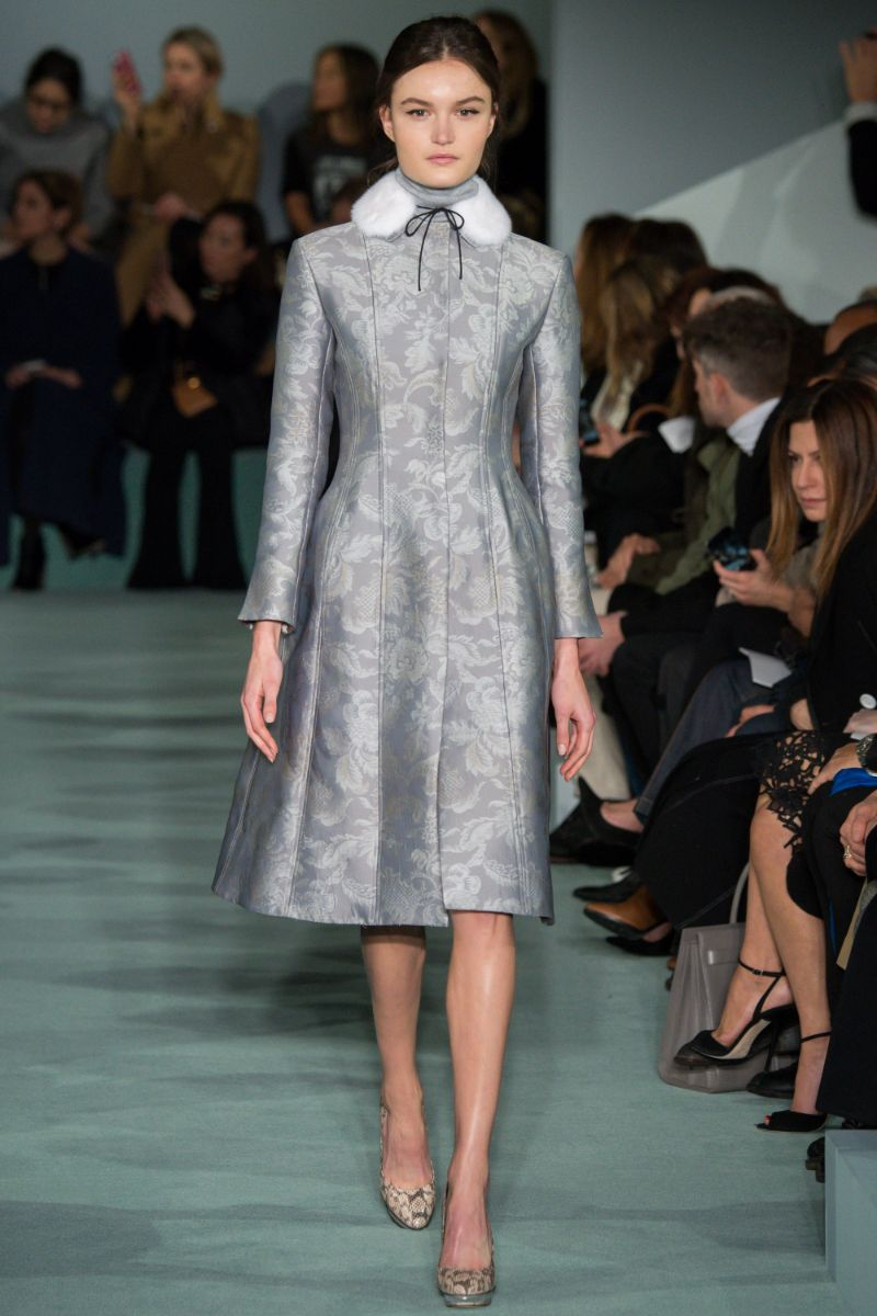 Oscar de la Renta Ready to Wear FW 2016 NYFW (6)