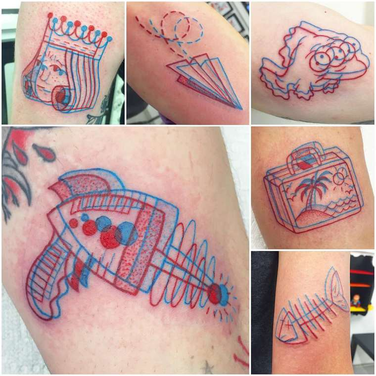 3D tattoos by Winston the Whale (11)
