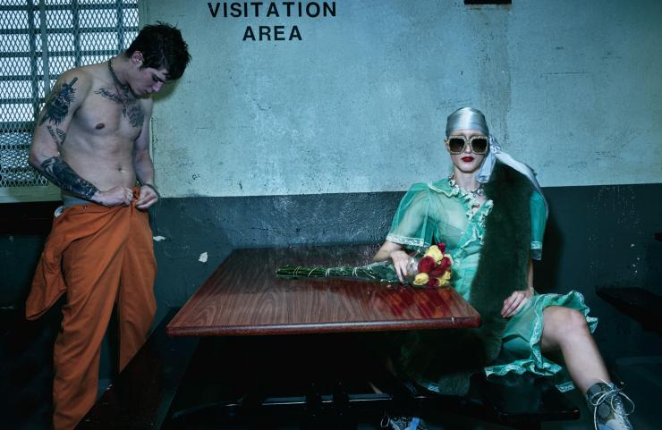 Anna Cleveland, Charlie Himmelstein & Violet Chachki by Steven Klein (8)