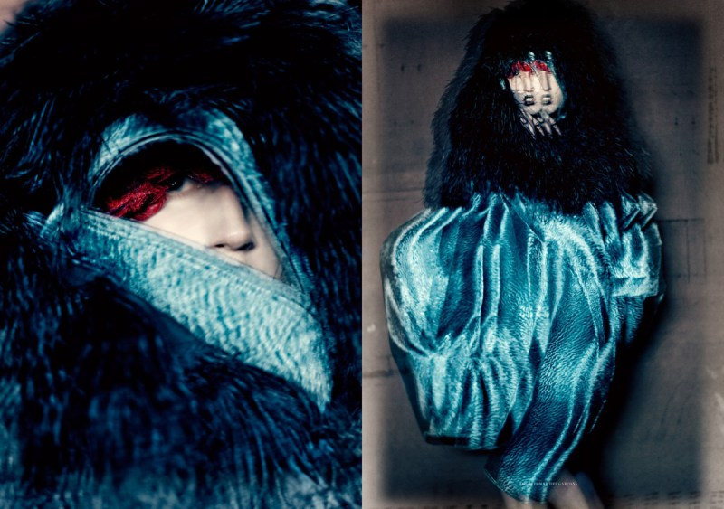 Anna Cleveland by Paolo Roversi (5)