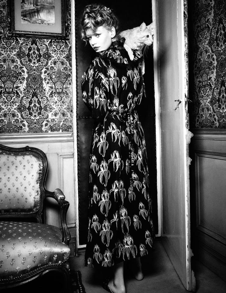 Hollie May Saker by Ellen von Unwerth (2)