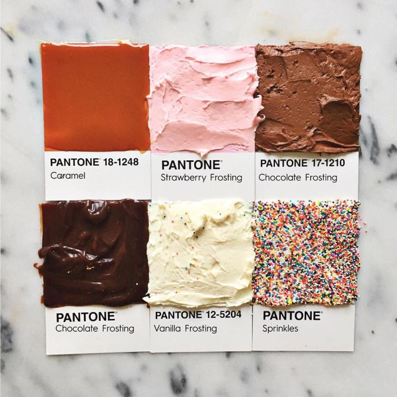 Pantone Foods by Lucy Litman (2)