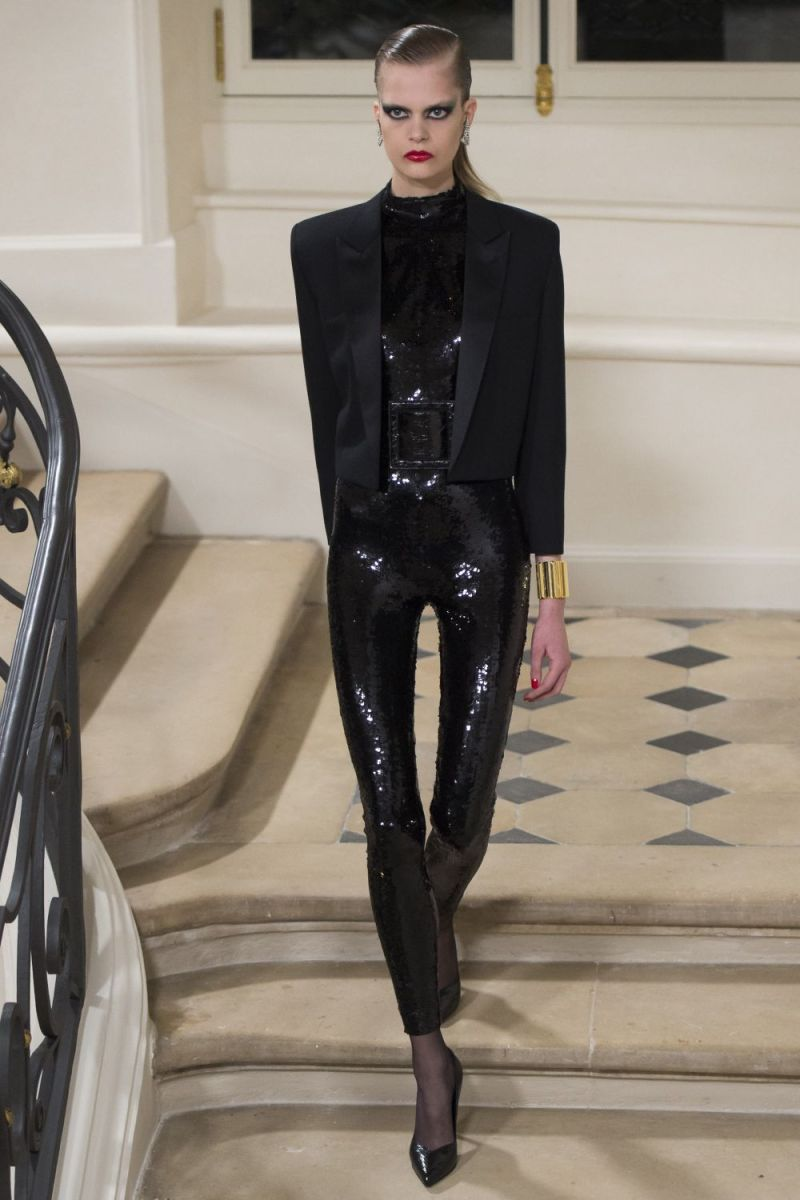 Saint Laurent Ready to Wear FW 2016 PFW (20)
