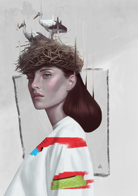 Surreal Paintings by artist Aykut Aydogdu (6)