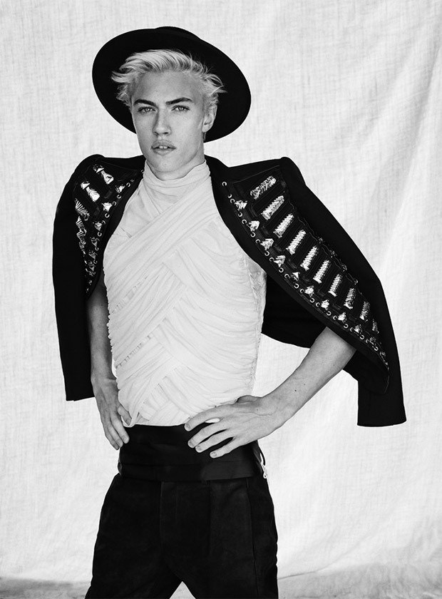 Lucky Blue Smith by Sergi Pons (2)