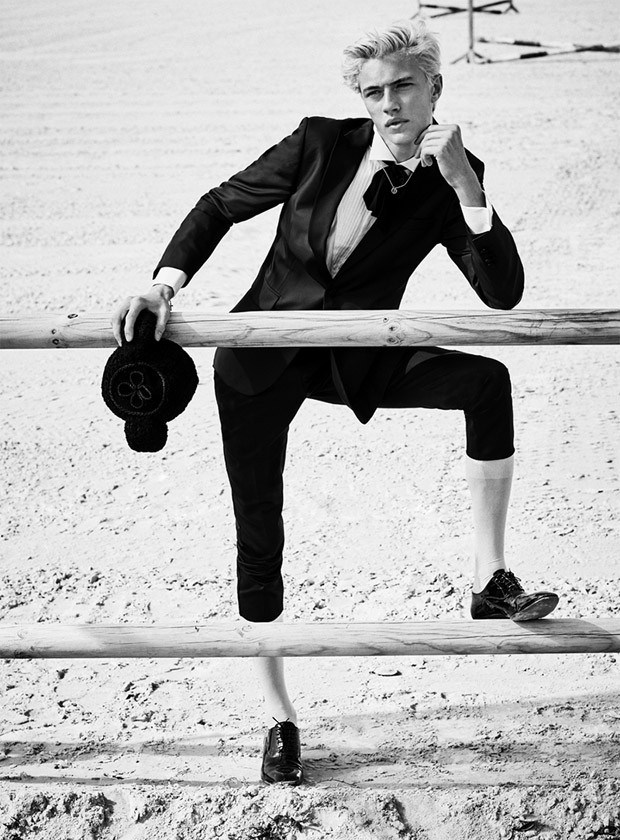 Lucky Blue Smith by Sergi Pons (3)