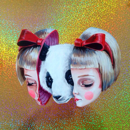 Wide Eyed Surreal Portraits by artist Julie Filipenko (4)