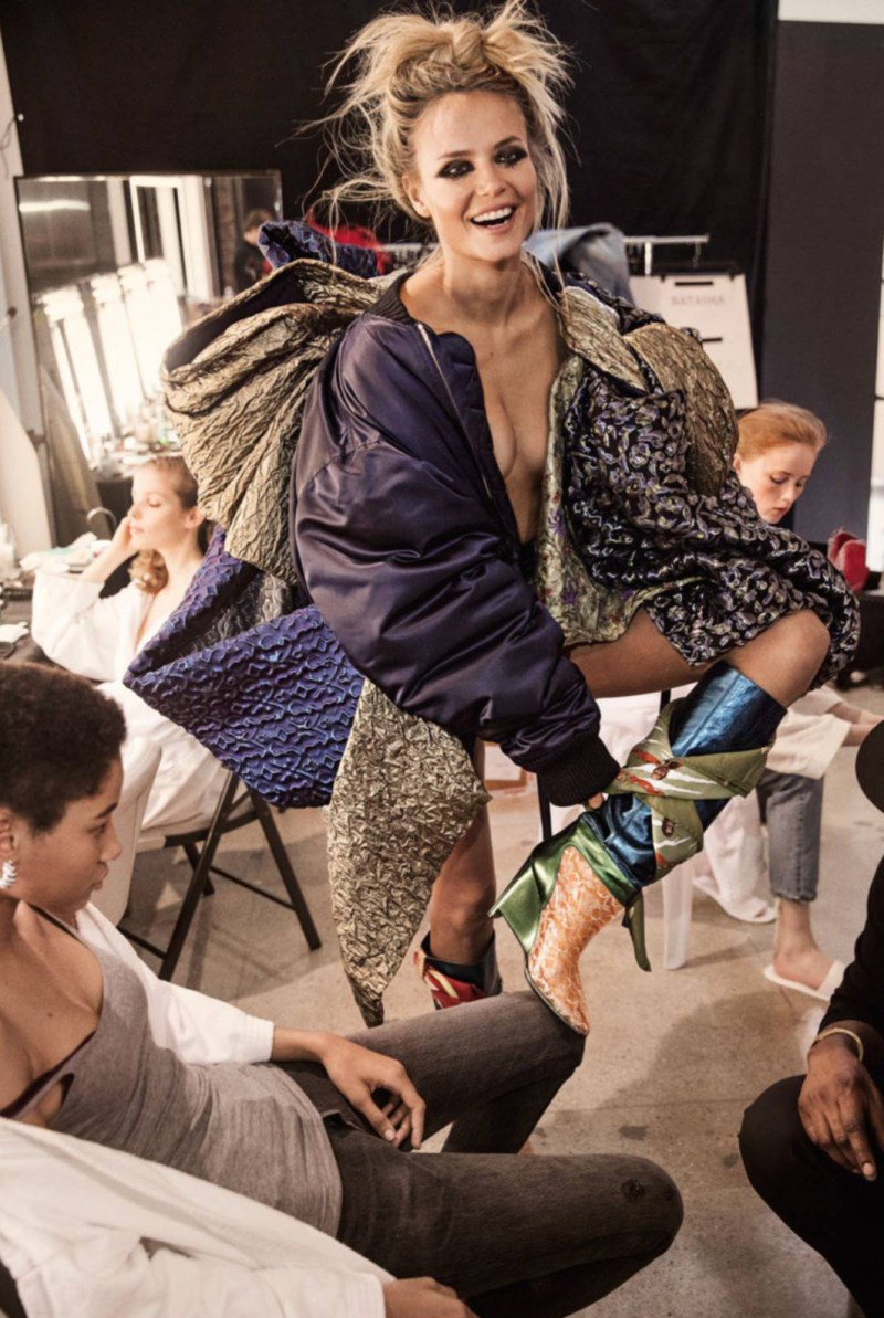 Natasha Poly, Anna Ewers, Lexi Boling, Rianne van Rompaey, Maria Borges, Lineisy Montero and Alisa Ahmann by Inez van Lamsweerde and Vinoodh Matadin (6)