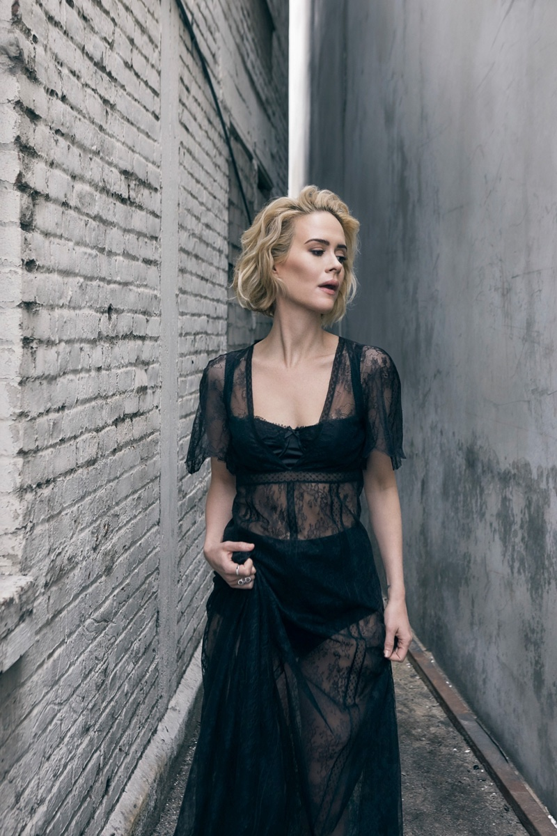 Sarah Paulson for No Tofu Magazine (3)